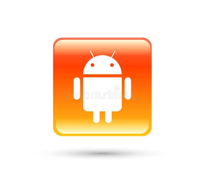 Icono Android de la transferencia directa con nueva pendiente moderna libre illustration
