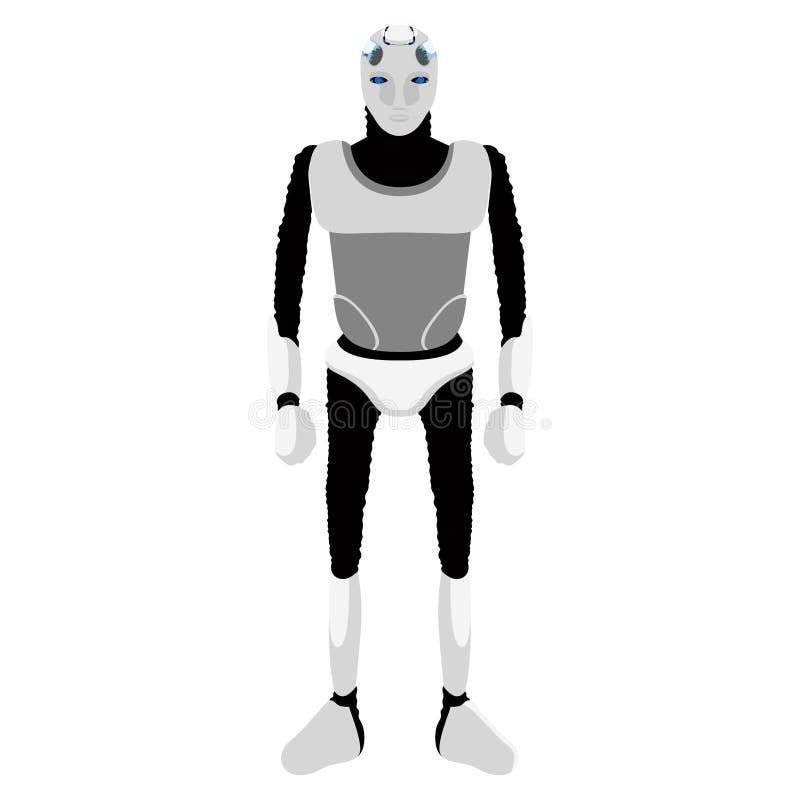 Icono androide lindo aislado ilustración del vector