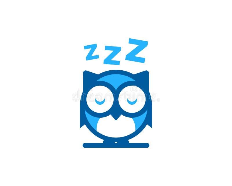 Icono animal Logo Design Element del sueño stock de ilustración