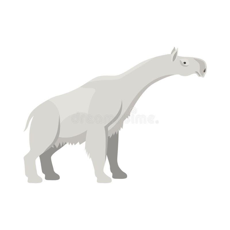 Icono animal prehistórico ilustración del vector