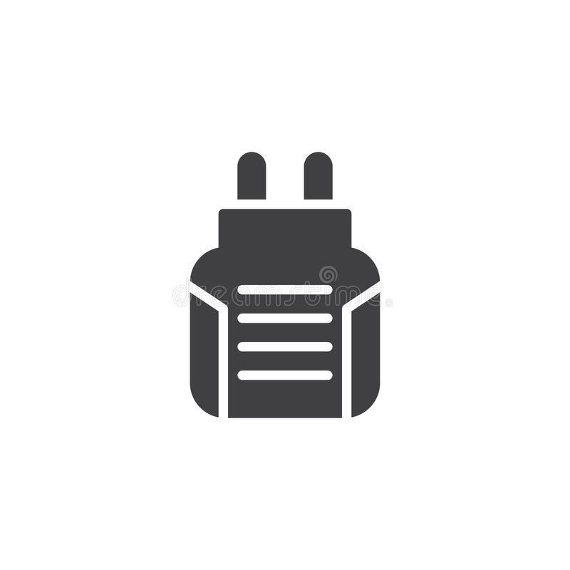 Icono anti del vector del fumigator del mosquito ilustración del vector
