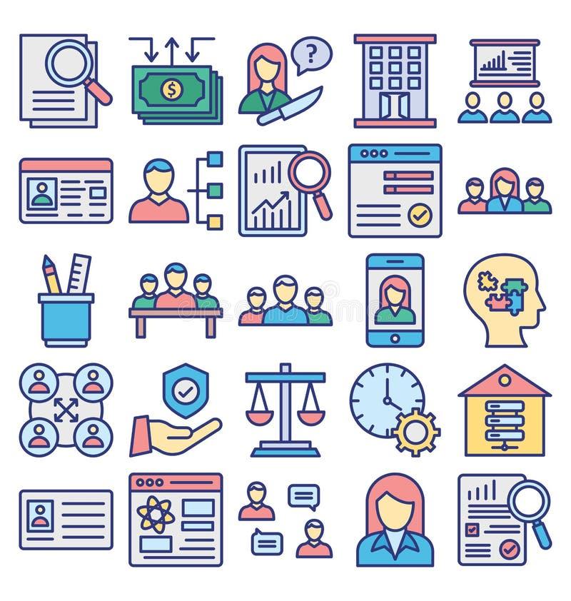 Icono básico del vector del comercio del negocio del RGB editable libre illustration