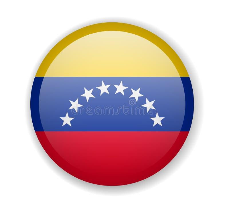 Icono Redondo Del Vector De La Bandera De Venezuela Stock de ilustración - Ilustración de bandera, redondo: 107820861