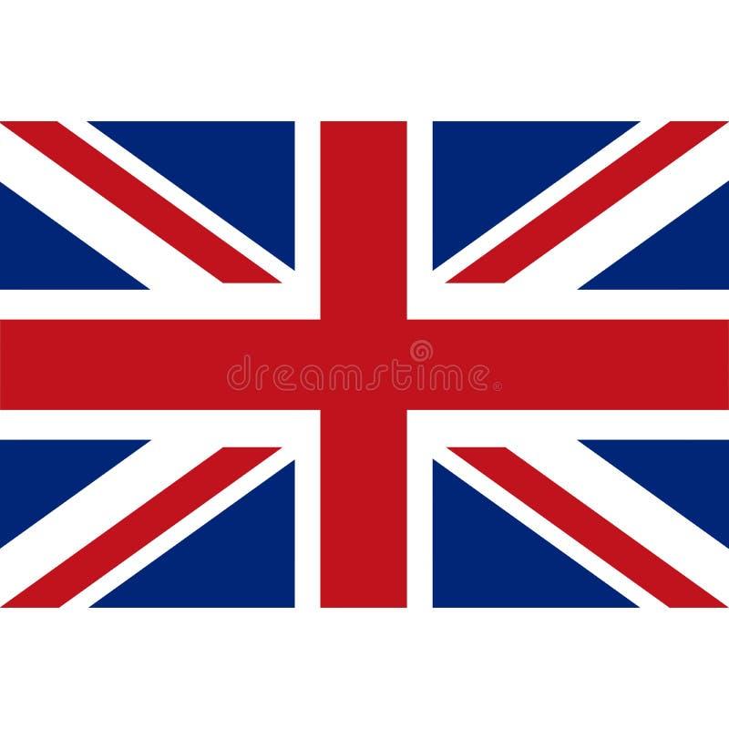 Icono británico 1 de la bandera del vector común libre illustration