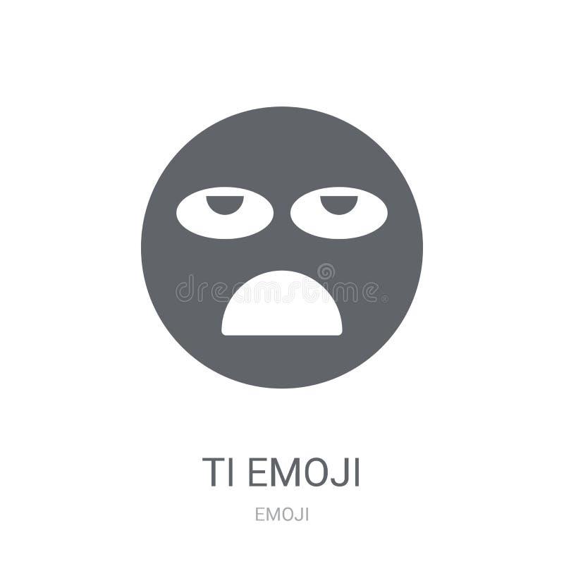 Icono cansado del emoji  libre illustration