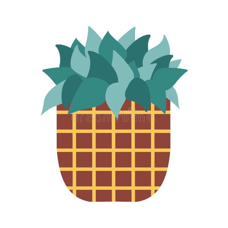 Icono casero del cactus libre illustration