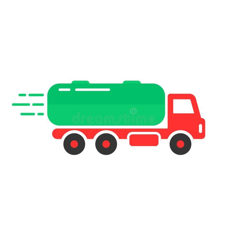 Icono coloreado del coche del tanque libre illustration