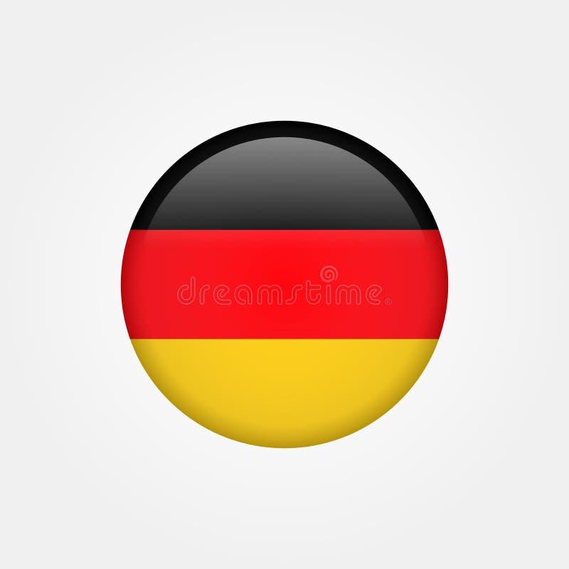 Icono común 5 de la bandera de Alemania del vector libre illustration