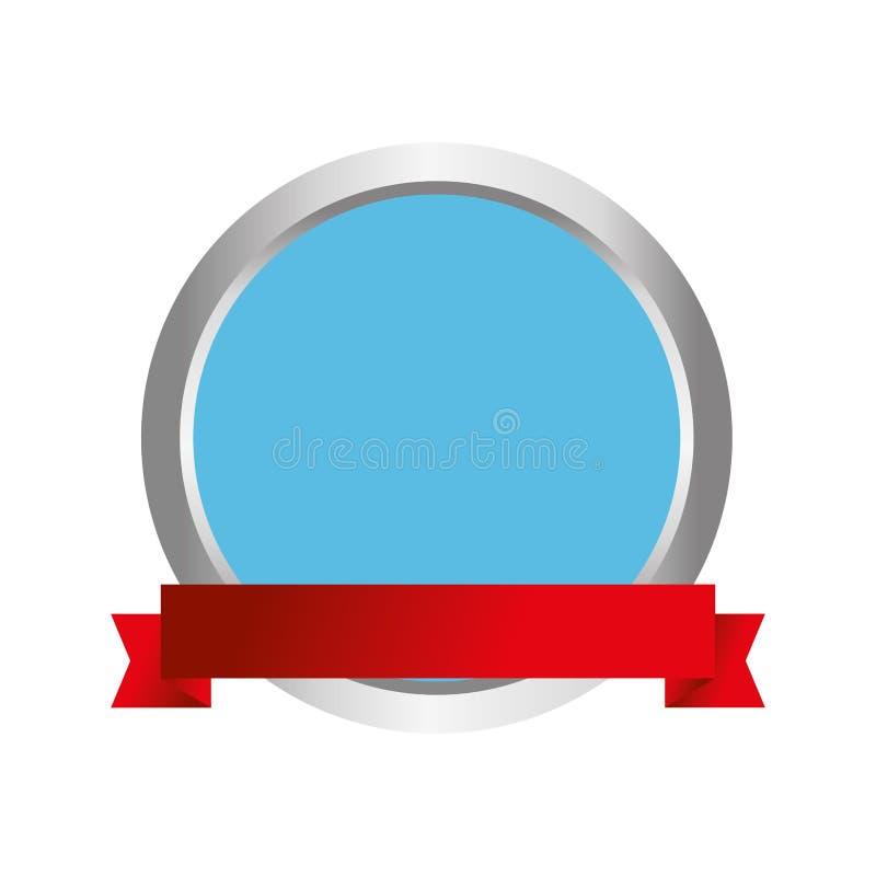 Icono comercial de la etiqueta del sello libre illustration