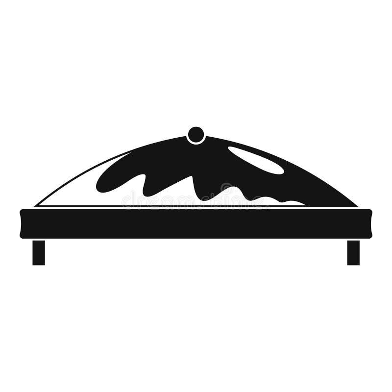 Icono comercial de la tienda, estilo simple ilustración del vector