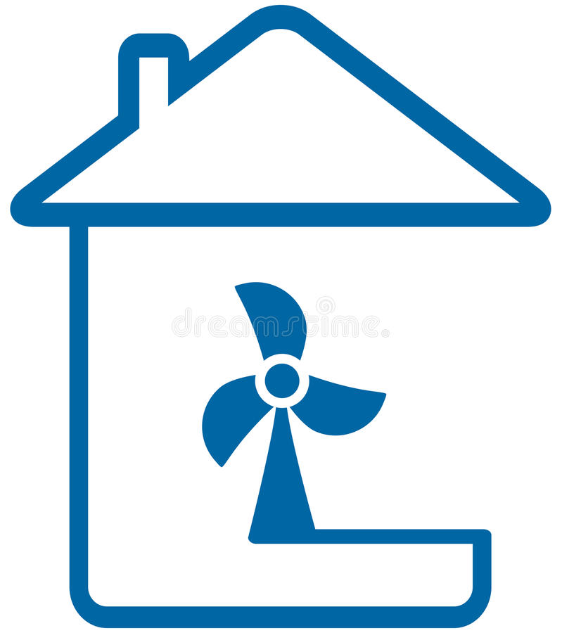 Icono con la diversión del hogar y de la tabla stock de ilustración