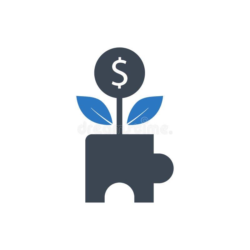 Icono creativo de la inversión libre illustration