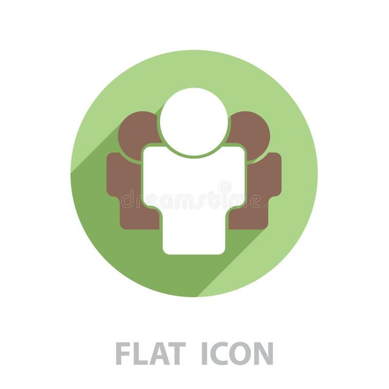 Icono creativo del foro Vector ilustración del vector