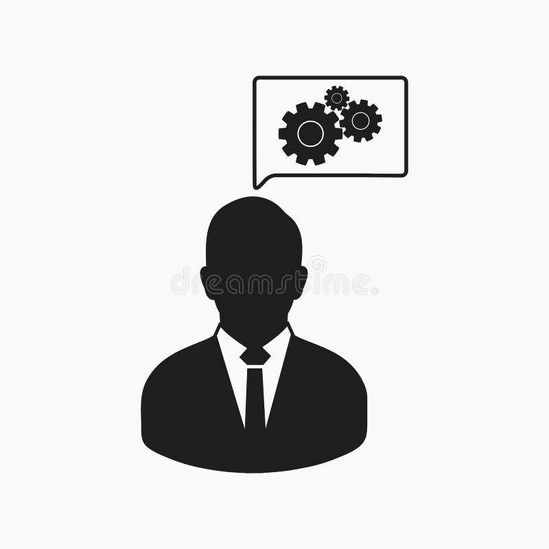 Icono creativo del servicio ilustración del vector