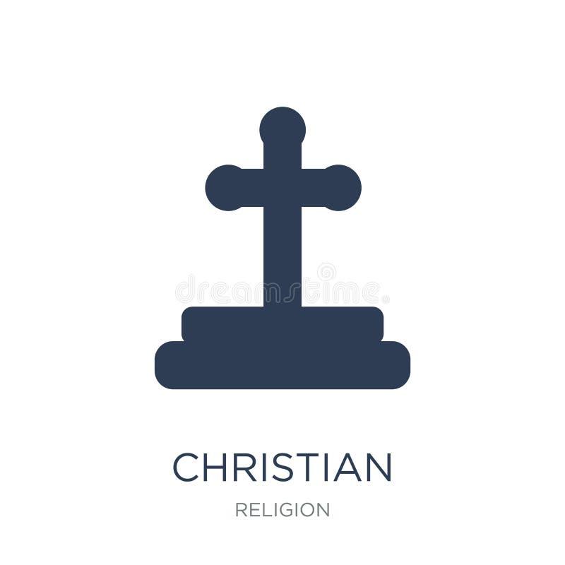Icono cristiano  ilustración del vector