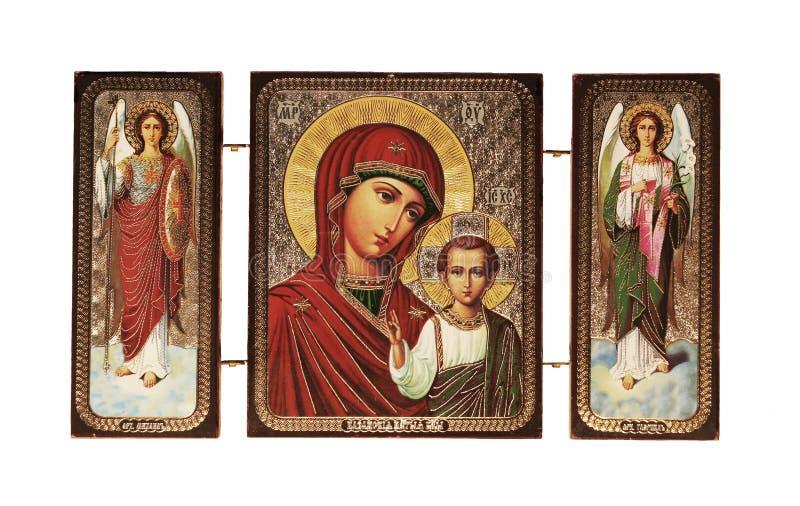 Icono cristiano foto de archivo