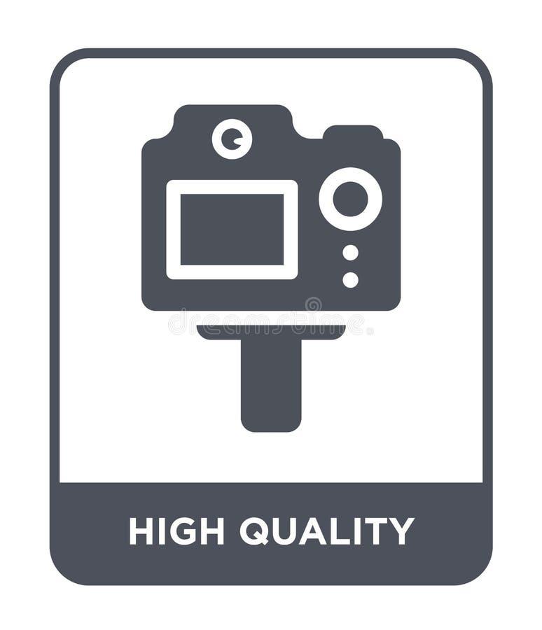 icono de alta calidad en estilo de moda del diseño icono de alta calidad aislado en el fondo blanco icono de alta calidad del vec ilustración del vector