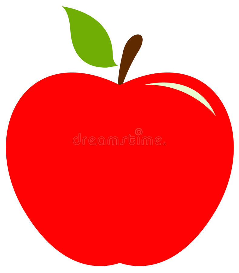 Icono de Apple stock de ilustración