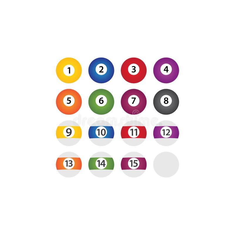 Icono de Ball Billiard ilustración del vector