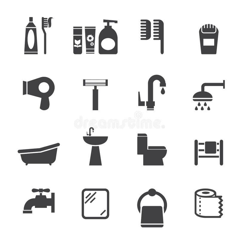Icono de Bartroom stock de ilustración