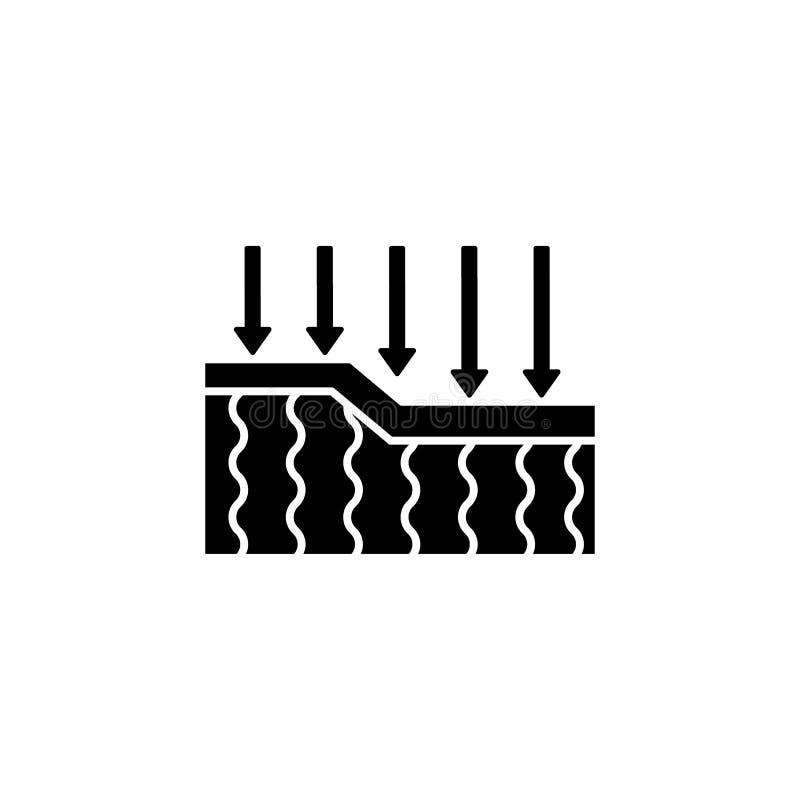 Icono de batallas, elasticidad, flechas Facilidad simple para dormir iconos para ui y ux, sitio web o aplicación móvil libre illustration