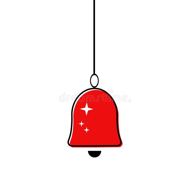 Icono de Bell ilustración del vector