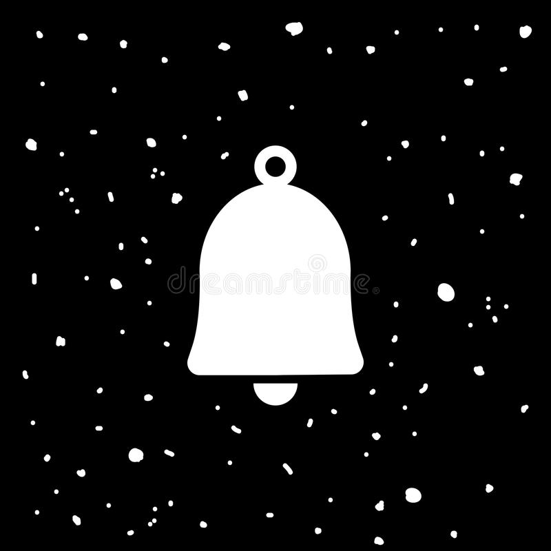 Icono de Bell stock de ilustración