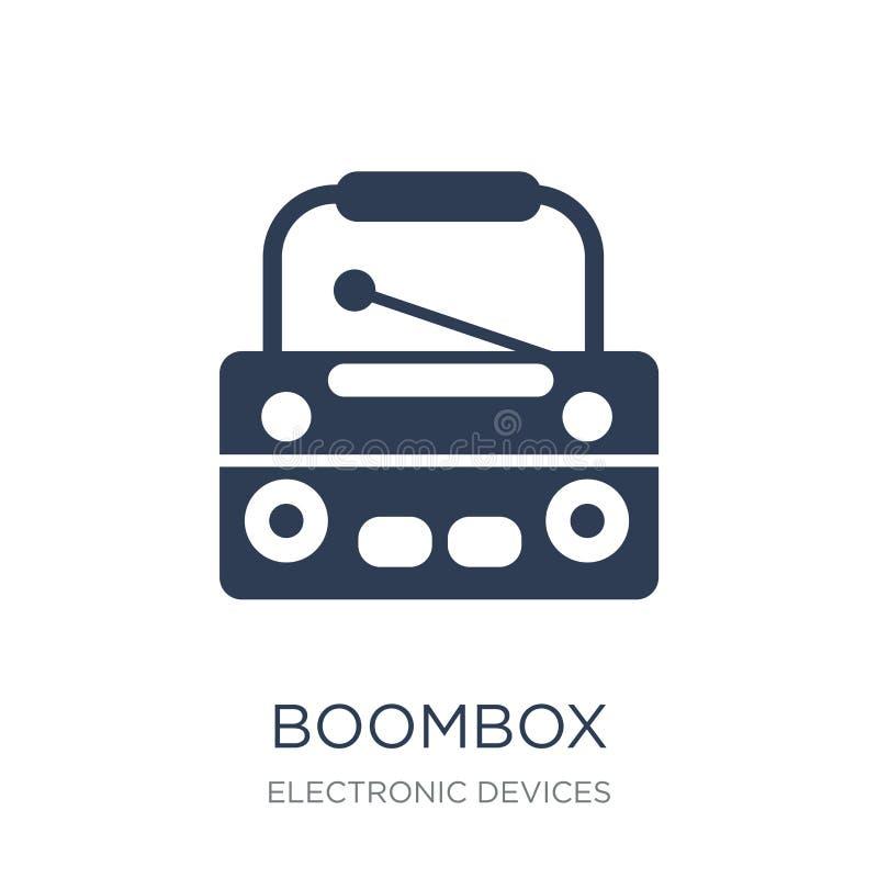 Icono de Boombox  ilustración del vector