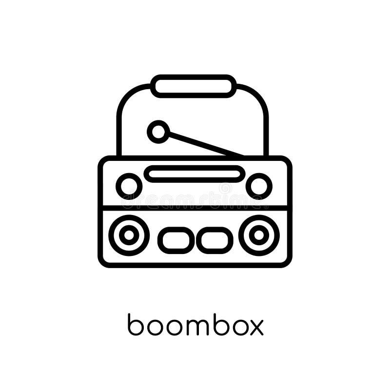 Icono de Boombox  stock de ilustración