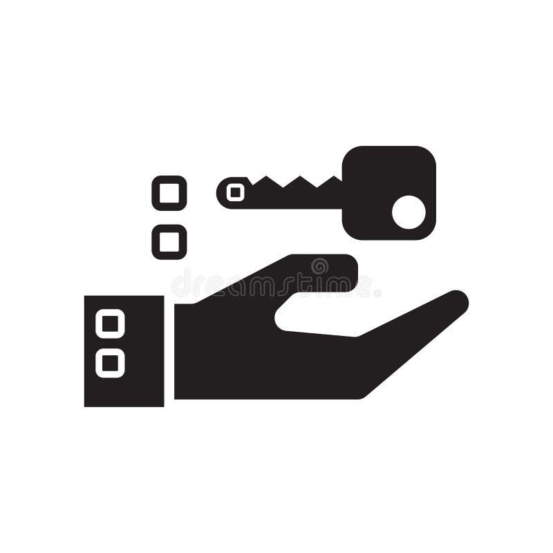 Icono de cierre aislado en el fondo blanco ilustración del vector