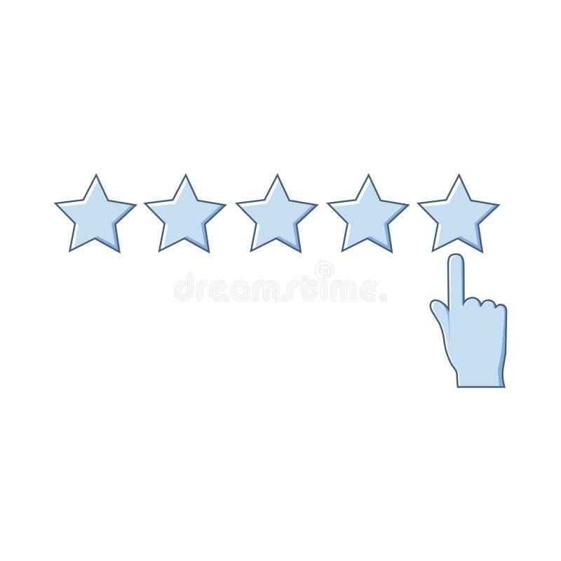 Icono de clasificación aislado en el fondo blanco stock de ilustración