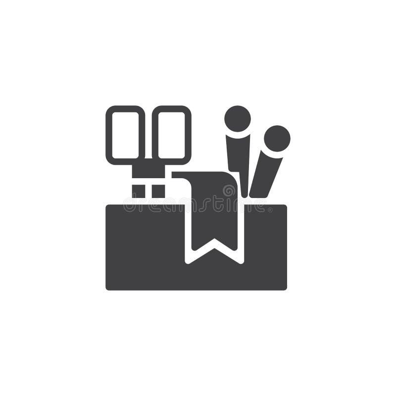 Icono de costura del vector de las herramientas ilustración del vector