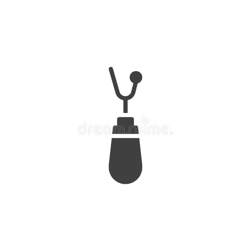 Icono de costura del vector de los accesorios libre illustration
