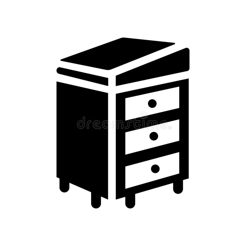 Icono de Davenport  stock de ilustración