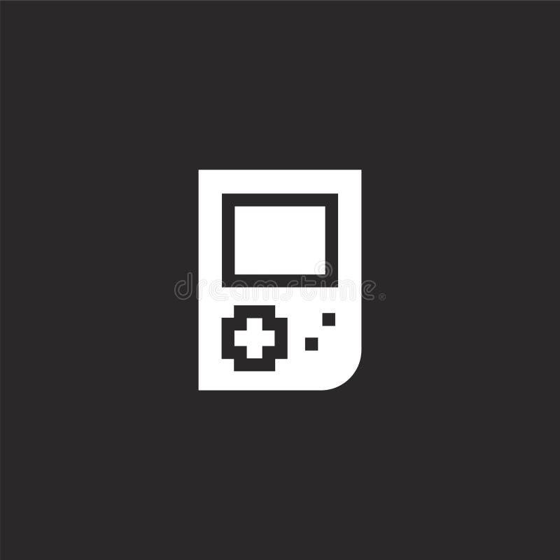 Icono de Digitaces Icono digital llenado para el diseño y el móvil, desarrollo de la página web del app icono digital de la colec ilustración del vector