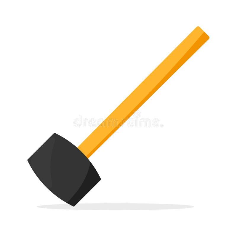 Icono de goma del mazo libre illustration