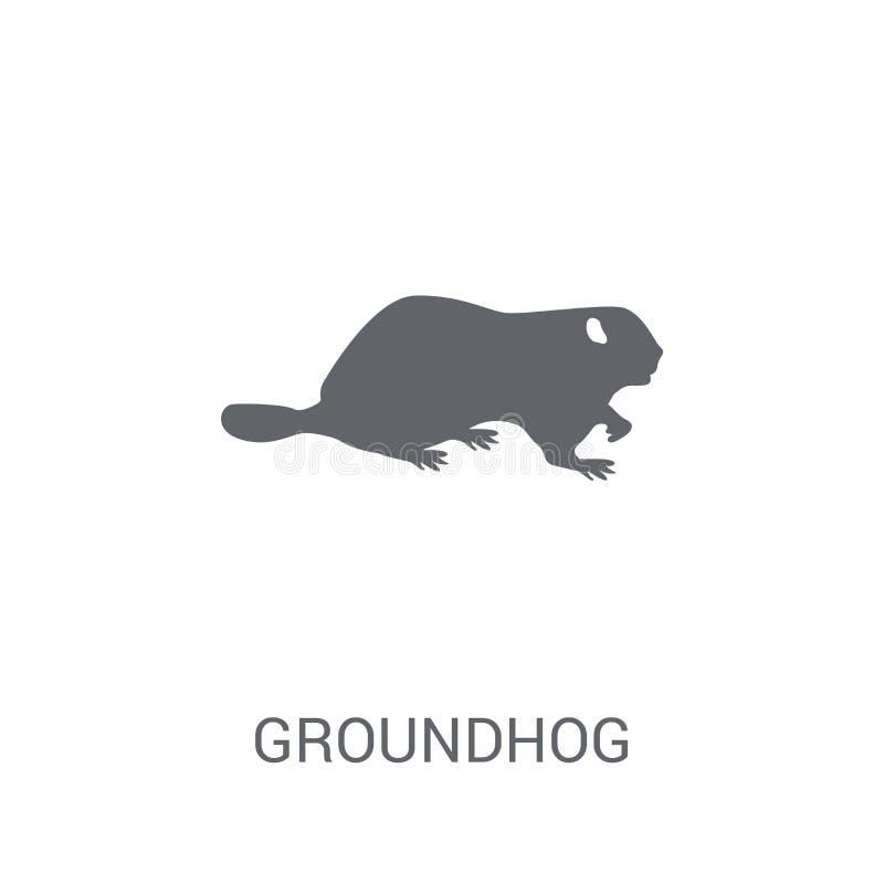 Icono de Groundhog  libre illustration