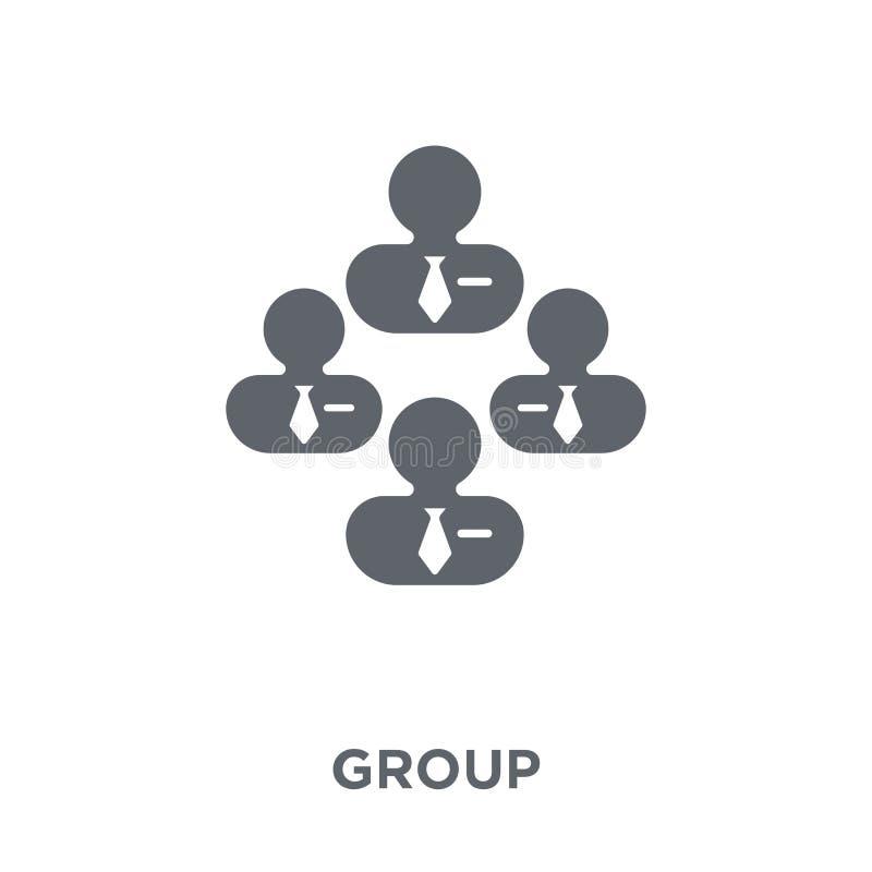 Icono de grupo de la colección de los recursos humanos libre illustration