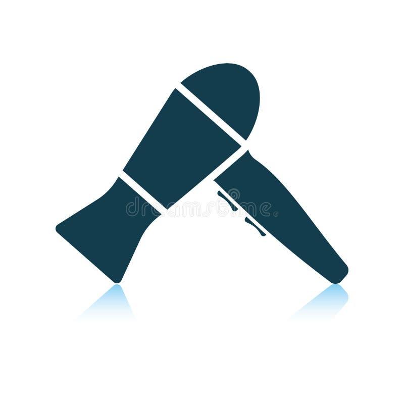 Icono de Hairdryer ilustración del vector