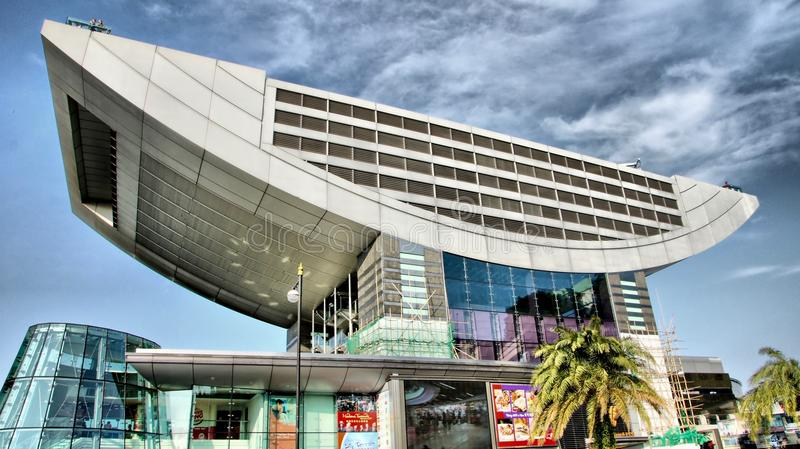 Icono de hotel de Hong Kong imagen de archivo