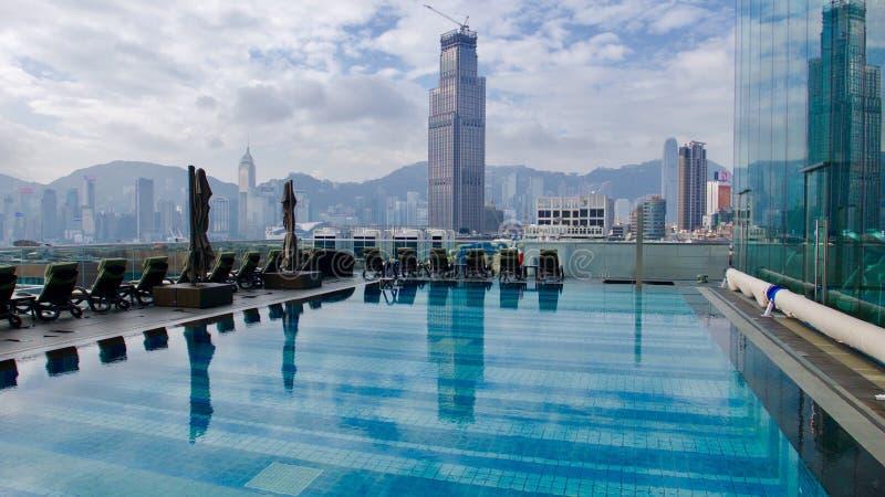 Icono de hotel de Hong Kong imágenes de archivo libres de regalías