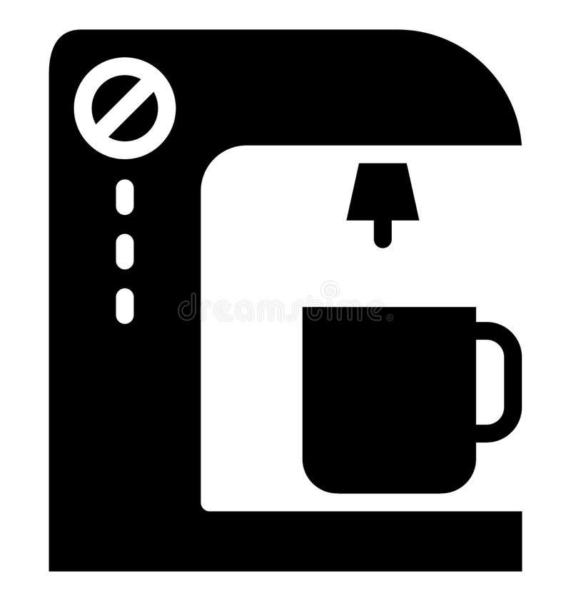 Icono de Isolated Vector del cervecero del caf? que puede modificarse o corregir f?cilmente libre illustration