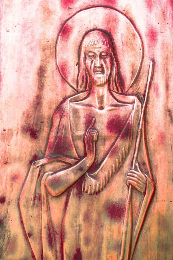 Icono de Jesús imagen de archivo
