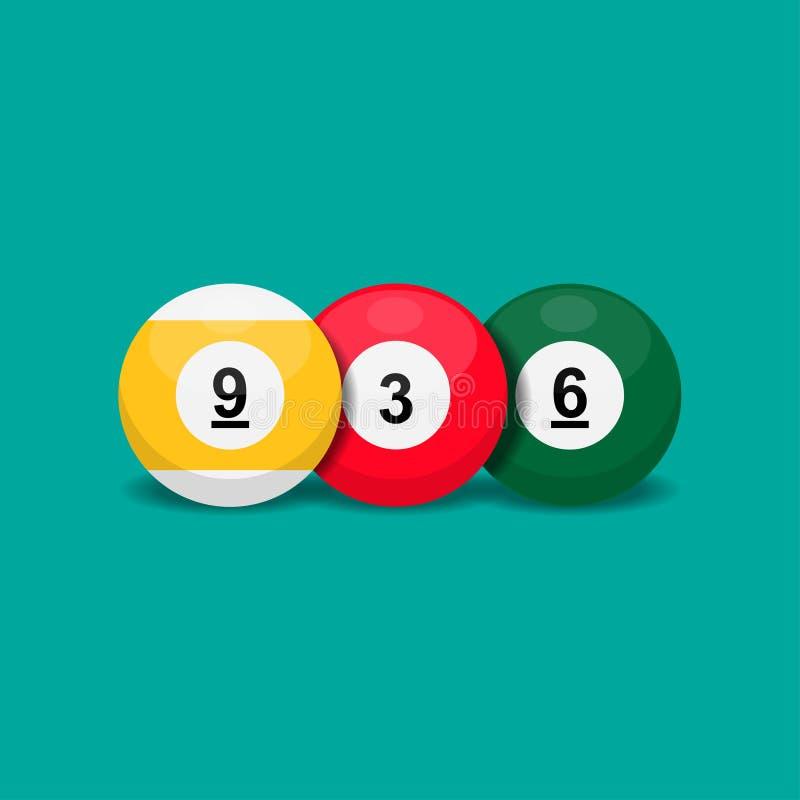 Icono de juego Billiard libre illustration