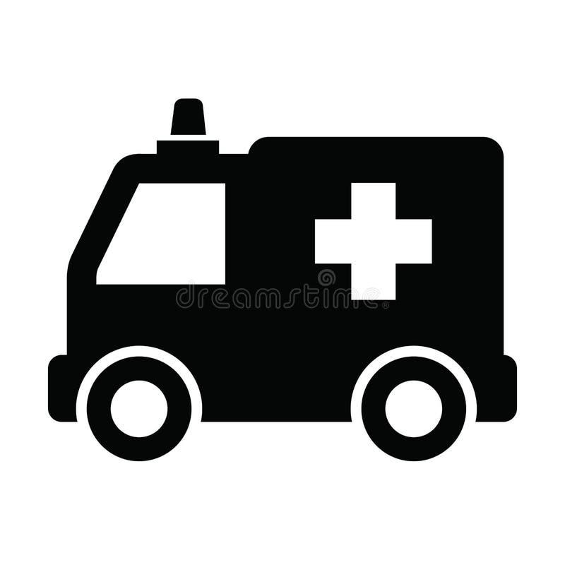 Icono de la ambulancia ilustración del vector