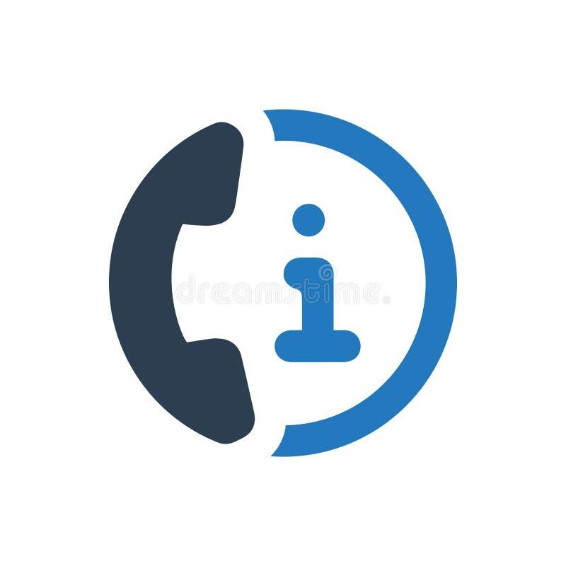 Icono de la atención al cliente ilustración del vector