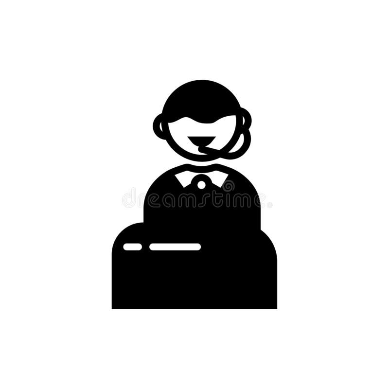 Icono de la ayuda libre illustration
