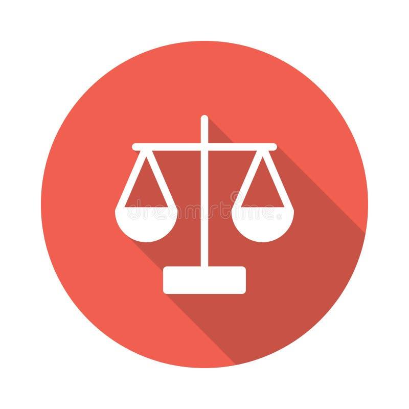 Icono de la balanza libre illustration