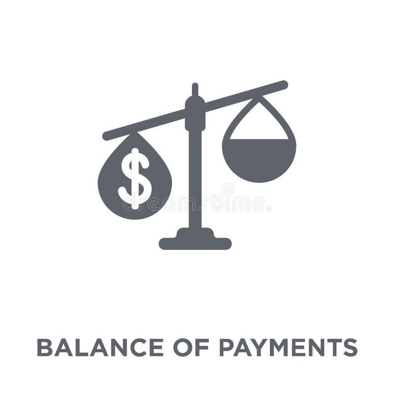 Icono de la balanza de pagos de la colección de la balanza de pagos libre illustration