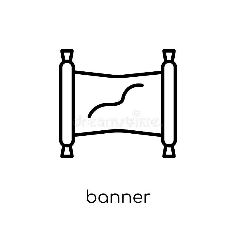 Icono de la bandera de la colección del márketing libre illustration